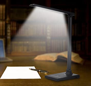 office desk lighting. august lec315 led light dimmable desk lamp with usb phone charger office work lighting