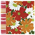 C.R. Gibson 13-Inch Square Vera Expandable Magnetic Page Album, Wild Blossoms