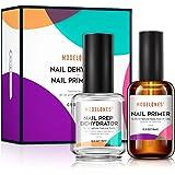 Modelones Professional Natural Nail Prep Dehydrate & Bond Primer, Nail Protein Bond, Superior Bonding Primer for Acrylic Powd