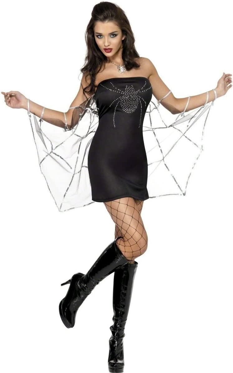 Smiffys - Disfraz de viuda para mujer, talla XS (31962XS): Amazon ...