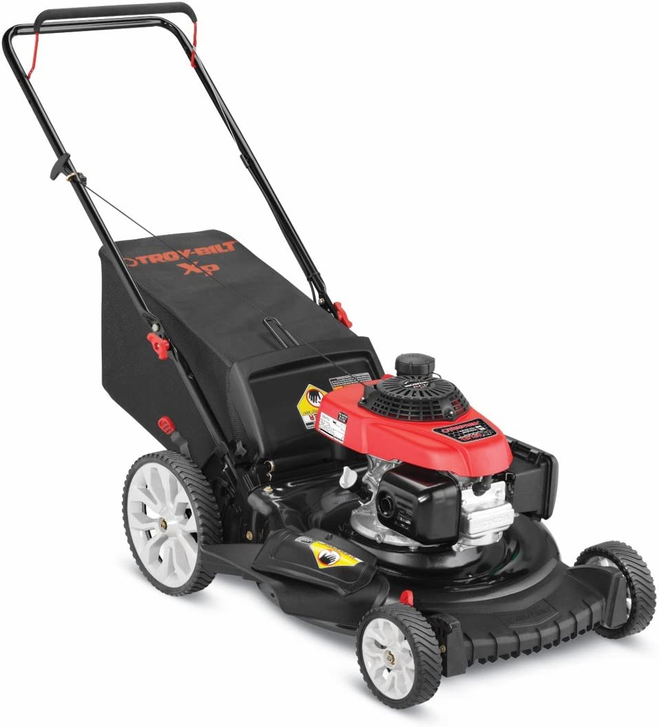 Troy-Bilt TB130 XP 163cc 21 Inch 3-in-1 Gas Push Lawn Mower