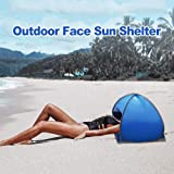 SPRINGWT Sun Shelters,Instant Sun Shade Canopy,Head PopUp Canopy, Automatic Shade Tent for Beach Camping Fishing Hiking…