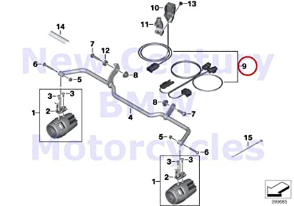 Superb Amazon Com Bmw Genuine Motorcycle Auxiliary Driving Light Wiring Wiring Cloud Nuvitbieswglorg