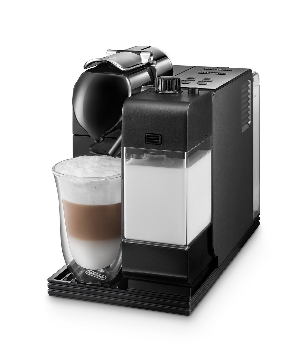 DeLonghi EN520BK Lattissima Plus Espresso Machine, Black
