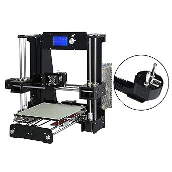 A6 impresora 3D de alta precisión Letra Grande Tamaño LCD de ...