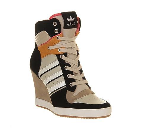 Mujer Adidas Vestir De Beige Para Negro Nero Zapatos 36 7IT1qHInvw