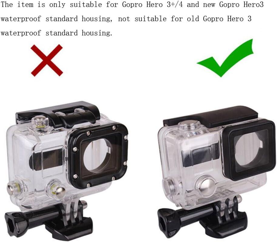 for GoPro Hero 4/3 Vicdozia Waterproof BacPac Back Door Case ...