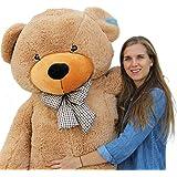"""Joyfay Giant Teddy Bear 78""""(6.5 Feet) Light Brown"""