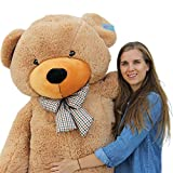 Joyfay Giant Teddy Bear 78'(6.5 Feet) Light Brown