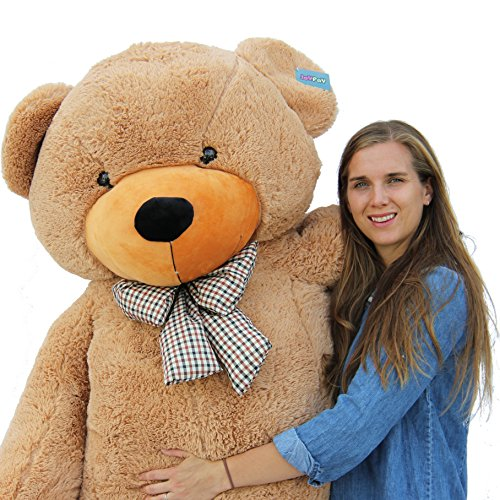 "Joyfay Giant Teddy Bear 78""(6.5 Feet) Light Brown"