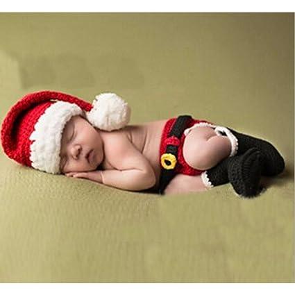 DAYAN Navidad Papá Noel Recién nacido foto del bebé Atrezzo Outfit ...