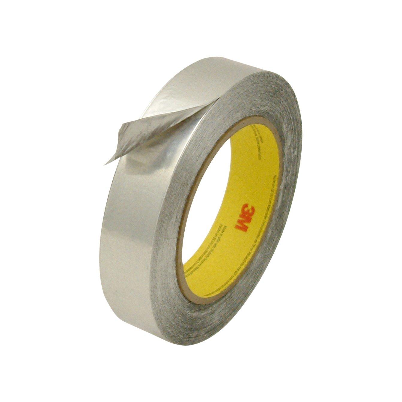3M 425/SI160 Scotch 425 Aluminum Foil Tape: 1'' x 60 yd, Silver