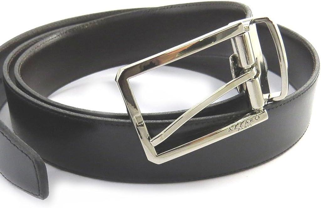 30 mm Leather belt Azzarobrown black 1.18 .