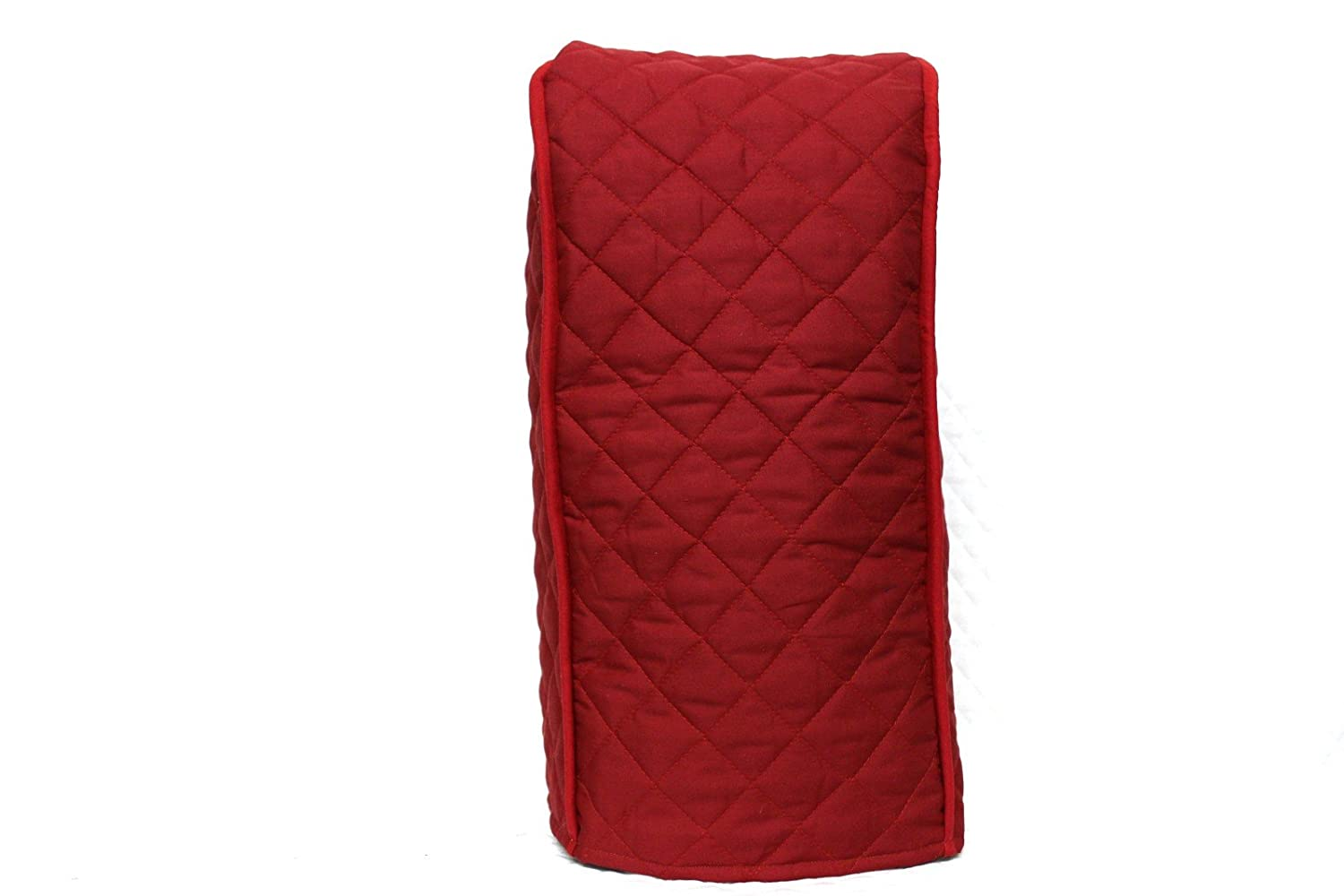 Simple Home Inspirations Ninja Blender Cover - Quilted Double Faced Cotton, Red