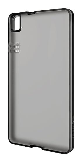 bq Gummie Cover - Carcasa para bq Aquaris E6, color negro