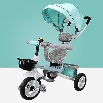 Triciclos- 1-6 años de Edad Plegable niño Bicicleta niños ...