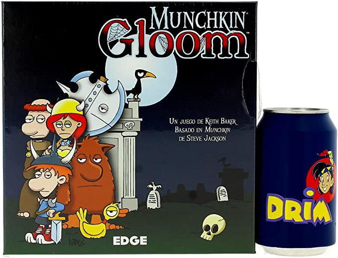 Edge Entertainment- Munchkin Gloom - Español, Color (EEAGGL07 ...