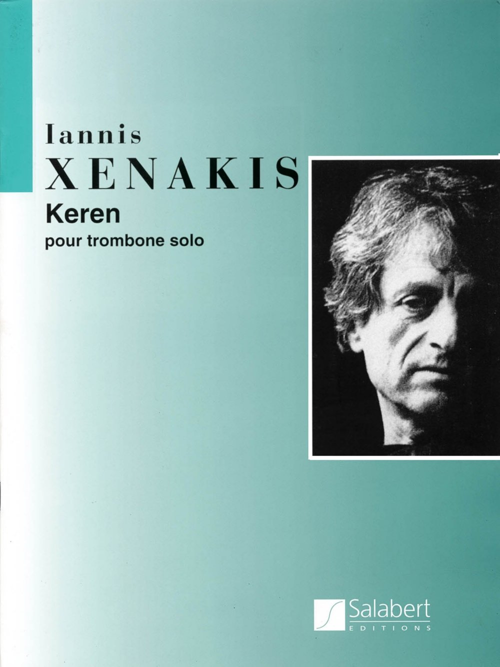Download Editions Salabert Keren (Trombone Solo) Instrumental Series Composed by Iannis Xenakis ebook
