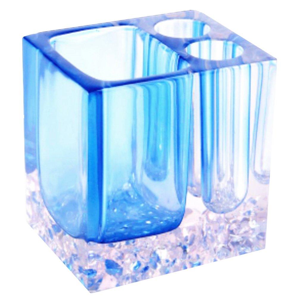 LUNA VOW Contenitore per spazzole per dispenser porta spazzolino dentifricio orizzontale - blu GJ-HOM13749821-FERN00162