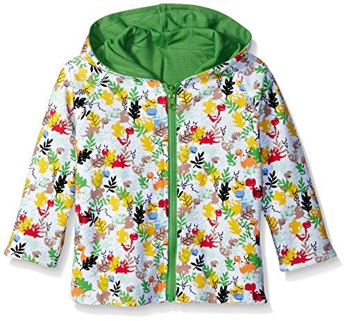 Zutano Little Boys' Toddler Dino Camo Reversible Hoodie Jacket, Multi, - Zutano Camo