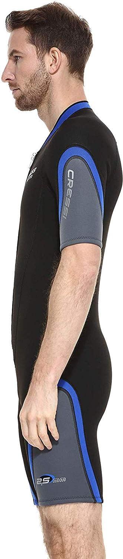 Cressi Herren Playa Man Neoprenanzug Shorty Premium Neopren 2.5mm