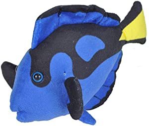 Wild Republic Regal Tang Plush, Stuffed Animal, Plush Toy, Gifts for Kids, Sea Critters 8 inches