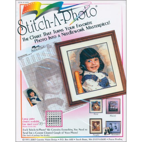 (Creative Vision Designs Stitch-A-Photo Art and Craft Kit)