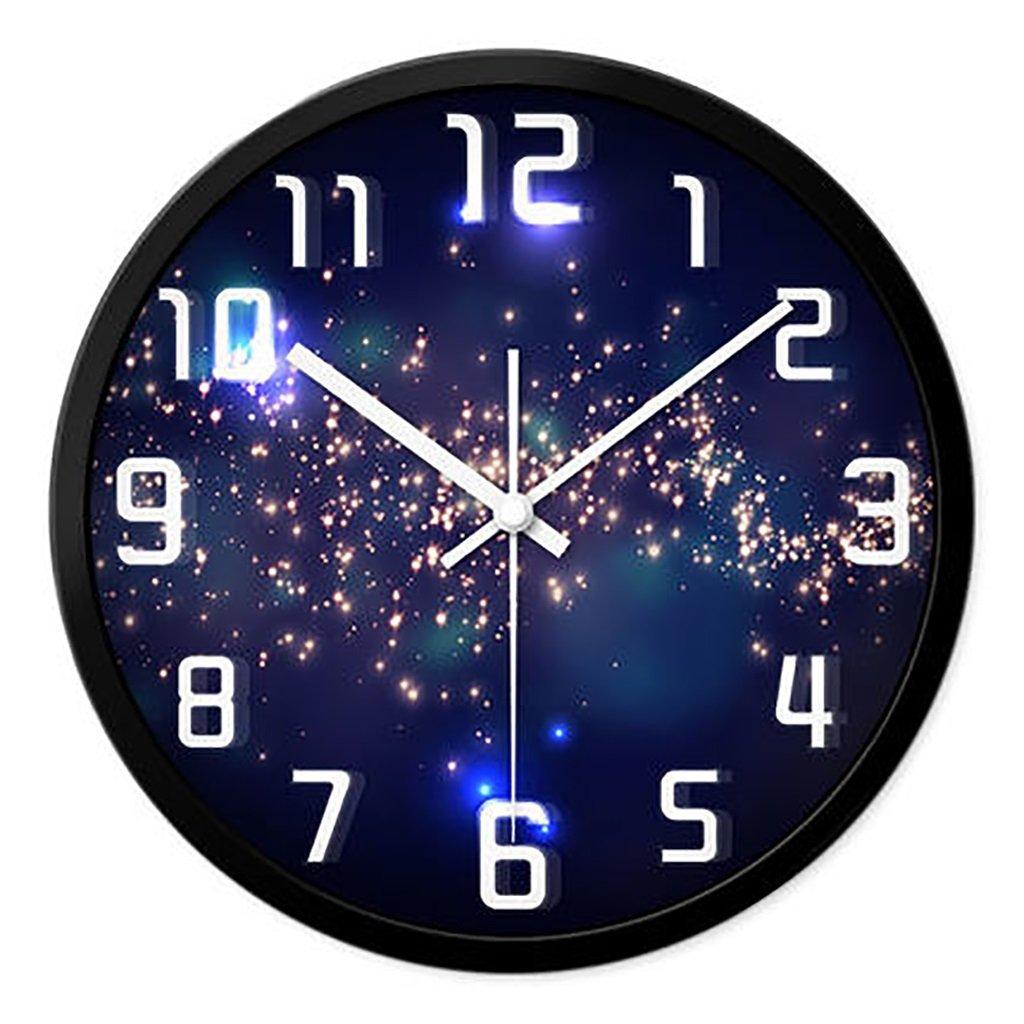 リビングルームクリエイティブ現代のクォーツ時計のベッドルーム静かなパーソナライズされたシンプルなファッションウォールクロック (色 : 2, サイズ さいず : L l) B07FPSPZR8 L l|2 2 L l