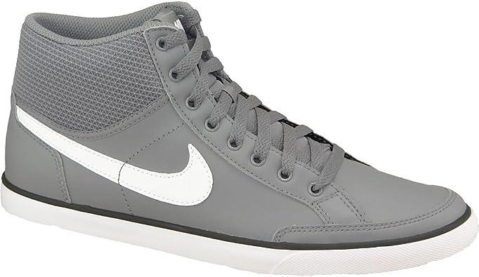 cobija Especificidad agitación  Nike Capri III Mid 579623-019 para Hombre Zapatillas de Gris Blanco Negro  tamaño: 40 EU: Amazon.es: Zapatos y complementos