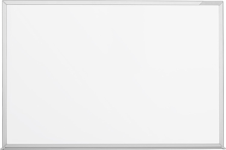 Magnetoplan 12402CC pizarrón blanco Magnético - Accesorio pizarra (Fijo, Aluminio, Horizontalmente, Blanco, 600 mm, 450 mm)