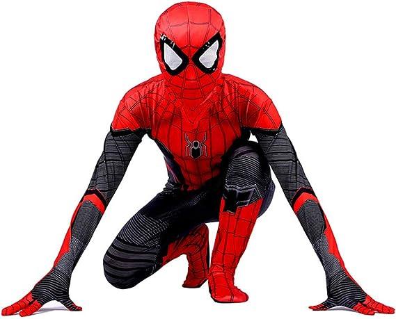 Niños spider-Man traje de halloween traje de impresión 3D ...