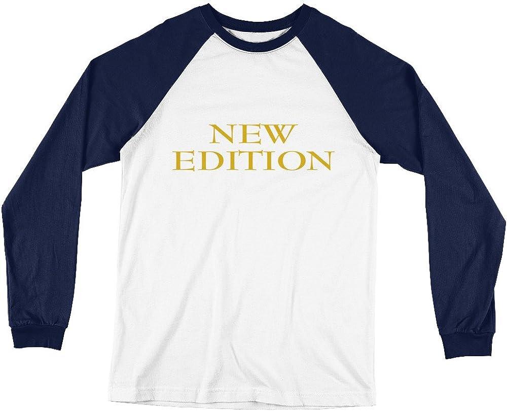 Wet Nose Studio New Edition Bell Biv Devoe Long Sleeve Baseball T-Shirt