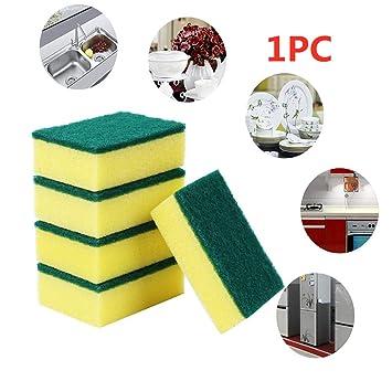 99Lamour - Esponja lavable para lavavajillas, cocina, 1 esponja ...