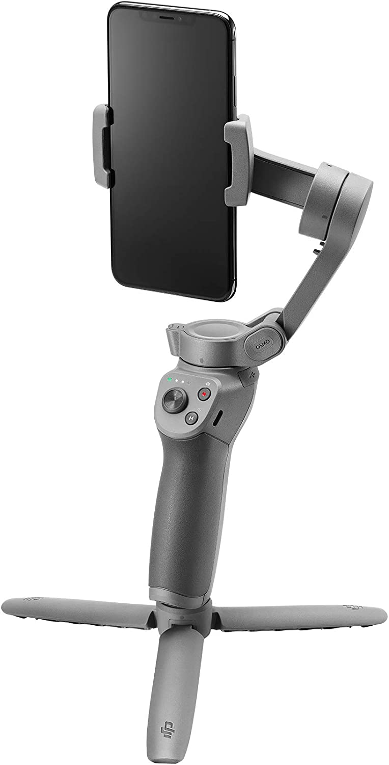 DJI Osmo Mobile 3 Combo - 3-Axis Smartphone Gimbal Handheld Stabilizer Vlog Youtuber Live Video for iPhone Android : Camera & Photo