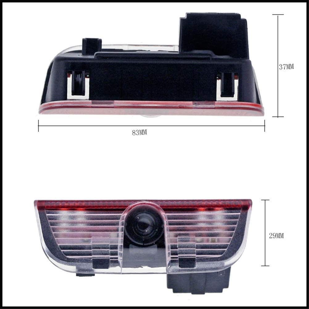 4pcs Car Led Courtesy Door Projector LED Light Ghost Shadow logo Lights