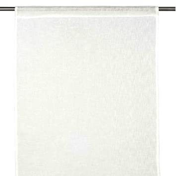 Tende Di Lino Bianche.Madura 3300 Tenda Di Tende In Lino Colore Bianco Bianco 60x280