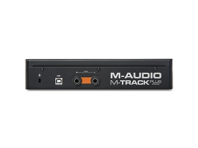 Amazon.com: Interfaz de audio USB M-Audio de dos canales con ...