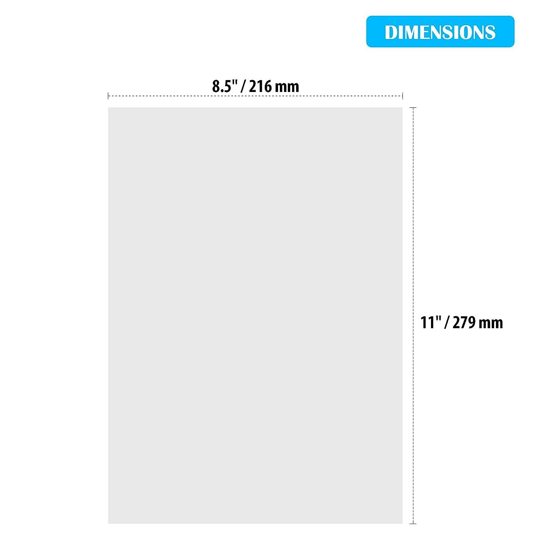 Waterslide Decal Paper Inkjet Transfer Paper Waterslide Paper A4 Paper for Printer Inkjet Paper Laser Paper Transparent Paper Water Slide Paper Decal Maker