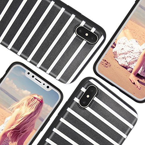 iPhone X Hülle, Imikoko® iPhone X Matt Rundumschutz Handy Hülle Schutzhülle Weich Silikon TPU Case Super Sweet Cute für Apple iphone X