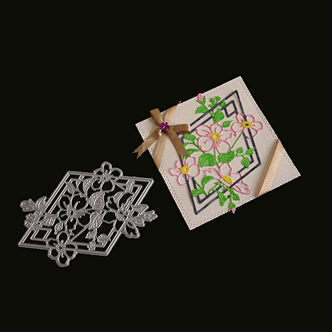 Metall Stanzformen Prägeschablone DIY Karte Papier Handwerk Scrapbooking Heiß