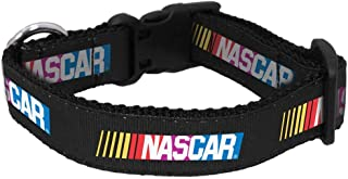 product image for All Star Dogs NASCAR Pet Collar, Black, Large