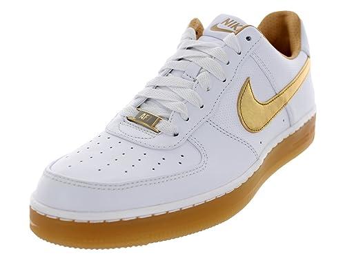 Nike Air Force 1 Downtown High Premium White Metallic