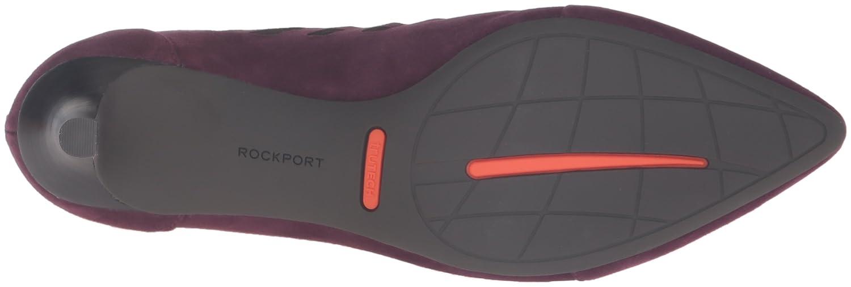 Rockport Women's Total Motion Kalila Cutout Boot B01ABRZ4C0 7 W US|Dark Vino Suede
