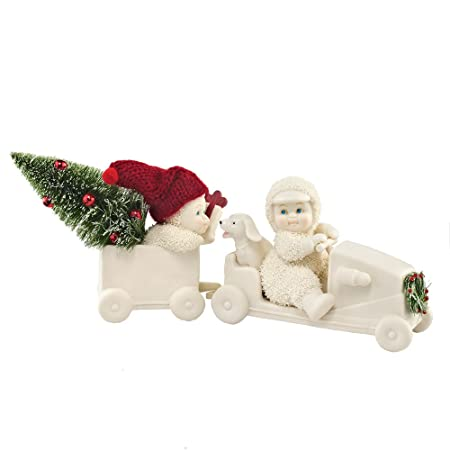 Department 56 Snowbabies Classics Christmas Coupe Figurine, 4.25 inch