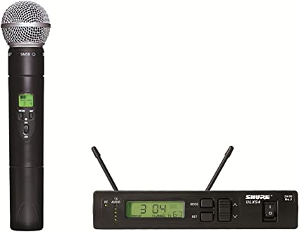 Shure ULXP4 662-698 Mhz-M1 Professional Wireless Microphone Diversity Receiver