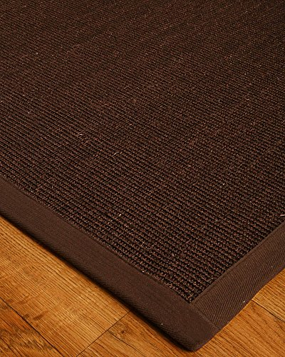 NaturalAreaRugs Natural Fiber Ankara Sisal Rug, 100% Natural Fiber, Eco-Friendly, 6' x 9', Non Slip Rug Pad Included by NaturalHomeRugs