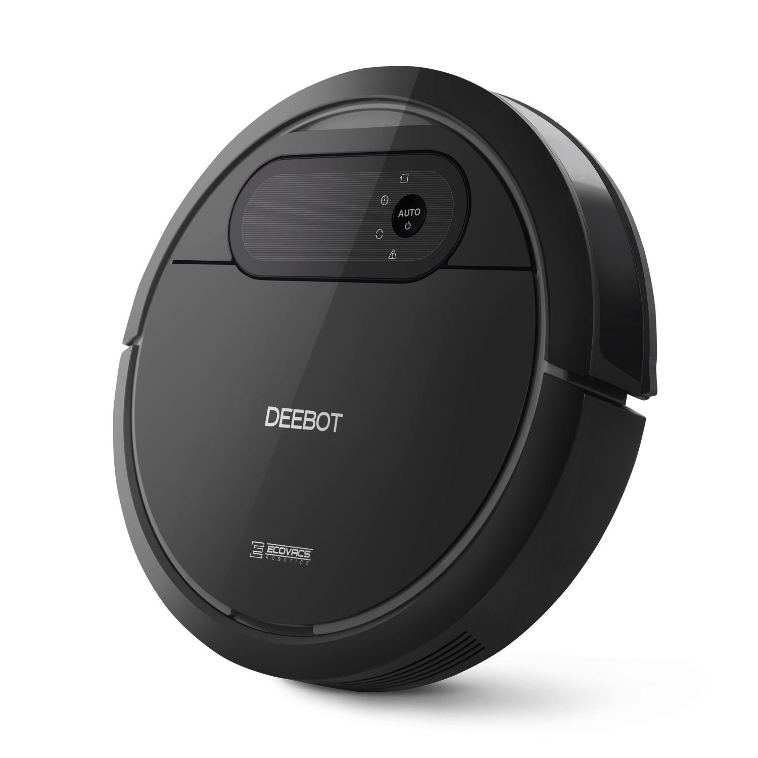 ECOVACS Deebot N78 Robot Vacuum Cleaner with Direct Suction, Sensor Navigation for Pet Hair, Fur, Allergens, Thin Carpet, Hardwood and Tile Floors by ECOVACS
