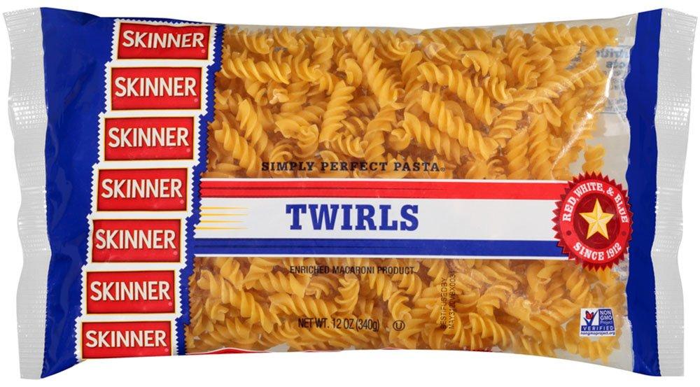Skinner Twirls, 12-Ounce (Pack of 12)