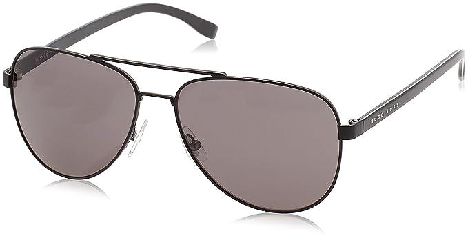 d343499f8af5 Hugo Boss Unisex-Adult's 0761/S Y1 Sunglasses, Matte Black, 60 ...