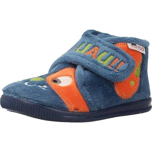 Zapatillas niños de Estar por casa, Color Azul, Marca VULLADI, Modelo Zapatillas Niños De Estar por Casa VULLADI 2104 140 Azul: Amazon.es: Zapatos y ...